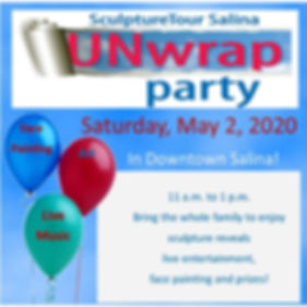 unWRAP Party Poster website square 2019.