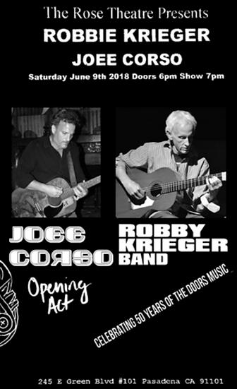 Tickets   Joee   Robby Krieger