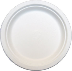 "9"" Round Sugarcane Lunch Plate [100]"
