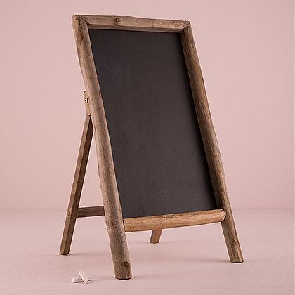 Rustic Chalkboard Sandwich Board