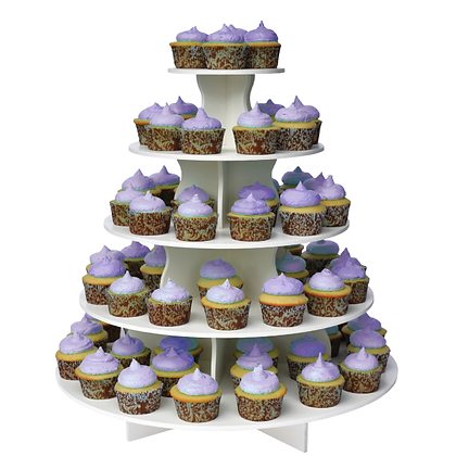 5 Tier Cupcake Stand Round