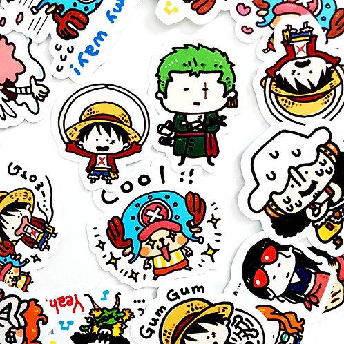 One Piece Anime Stickers [35]