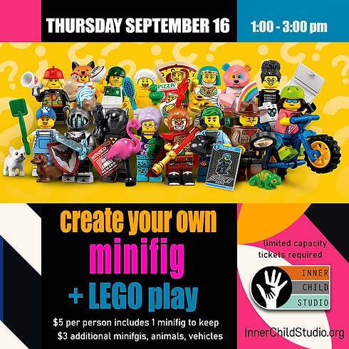 Make Your Own Minifig + LEGO Play