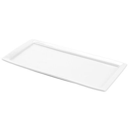 Rectangular China Serving Tray