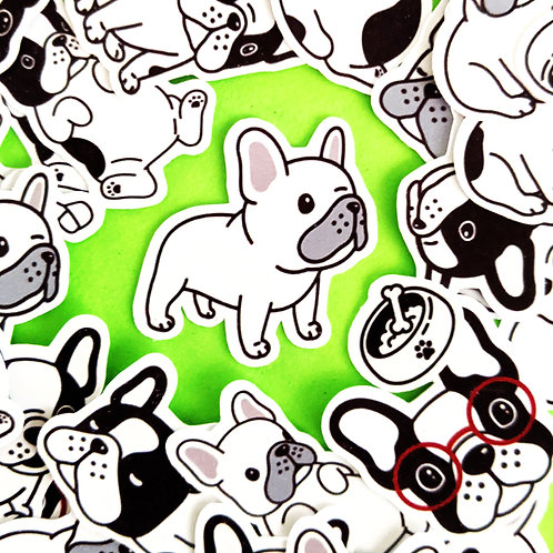 Adorable Frenchie Stickers [48]