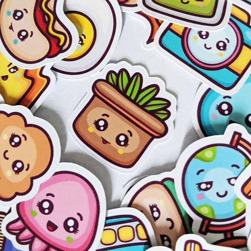 Adorable Kawaii Diary Stickers [54]