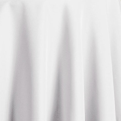 "Polyester Linen 90"" Square"