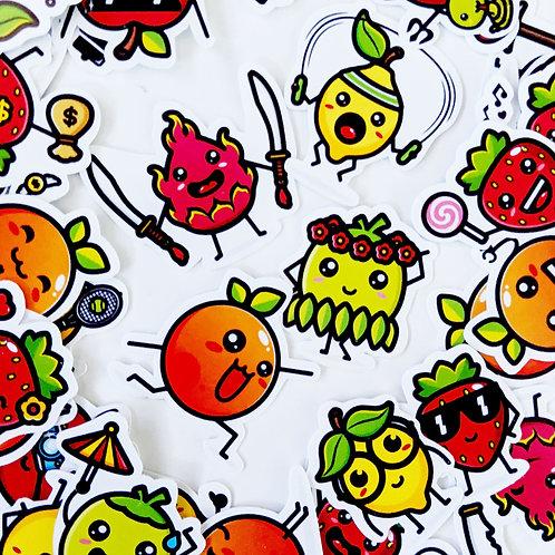 Funny Fruit Friends [54]