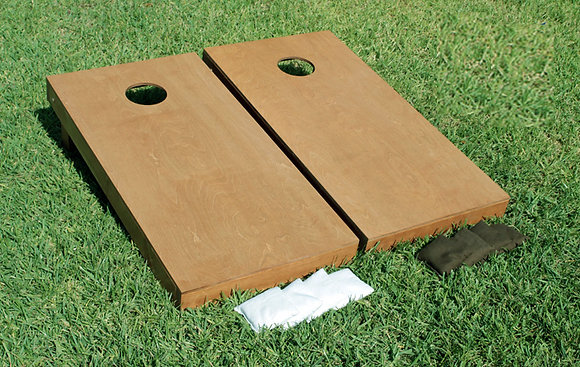 Cornhole - Natural Wood Stain