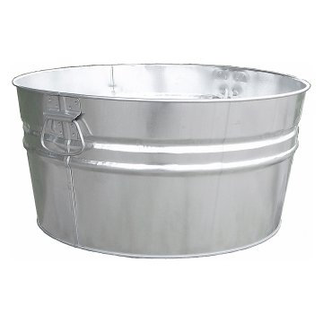 35 Gal. Aluminum Drink Tub