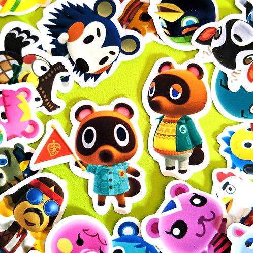 Animal Crossing Mini Stickers [36]