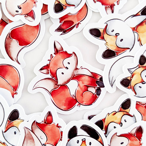 Darling Fox Stickers [48]