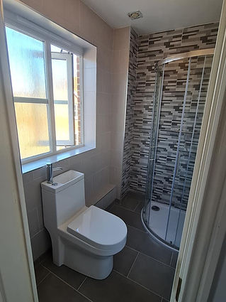 bathroom with shower for luke sibley plu