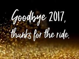 Good Bye 2017, Hello 2018!