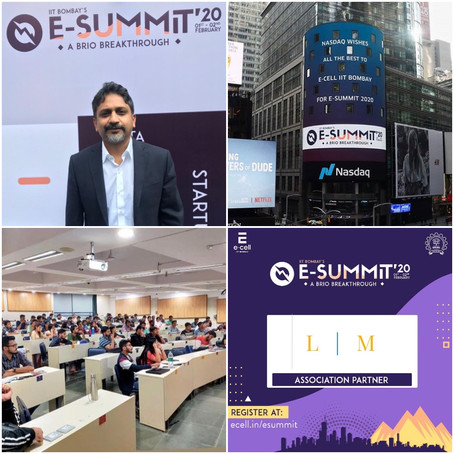 Legal Minds LLP invited to IIT-B's Entrepreneurship Summit