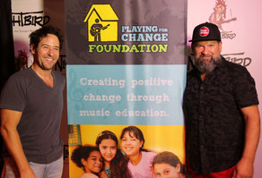 PLAYING FOR CHANGE: THE ROB MORROW BAND and MIA AND JONAH AT MOLLY MALONE'S