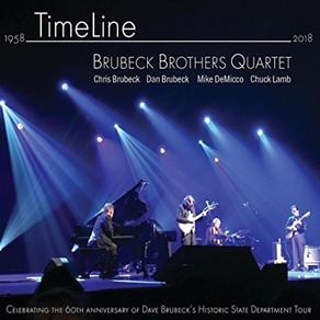 BRUBECK BROTHERS QUARTET, Timeline