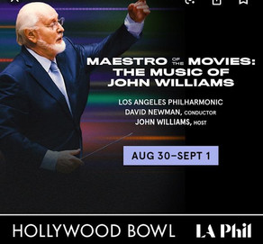 MAESTRO OF THE MOVIES: THE MUSIC OF JOHN WILLIAMS at the Hollywood Bowl
