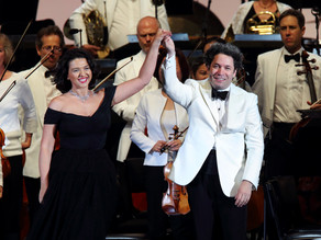 10 YEARS – BRAVO GUSTAVO! DUDAMEL CONDUCTS TCHAIKOVSKY at the Hollywood Bowl