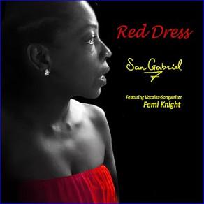 SAN GABRIEL SEVEN Featuring Femi Knight, Red Dress