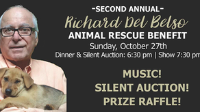 SECOND ANNUAL RICHARD DEL BELSO ANIMAL RESCUE BENEFIT at Catalina Jazz Club