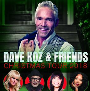 DAVE KOZ & FRIENDS 2018 CHRISTMAS TOUR at The Cerritos Center for the Performing Arts