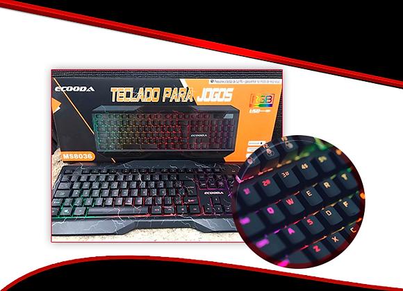 Teclado Gaming RGB P/. Jogos  MS8036