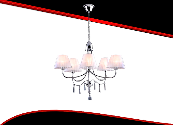 Lustre Bronzeart Mimo Com Cupula 5xE-14