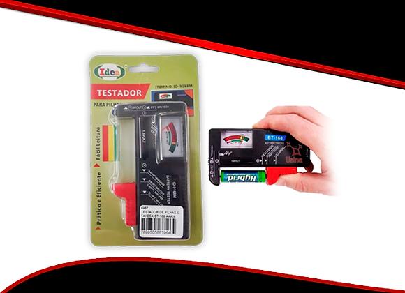 Testador Pilhas Baterias Medidor Normal Recarregável Prático