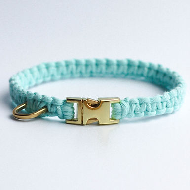 Bahamas Blue Puppy Collar