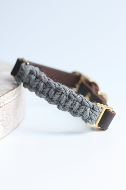 Charcoal Adjustable Collar