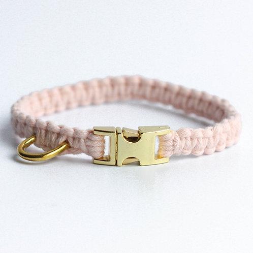 Bubblegum Pop Pink Puppy Collar