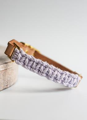 Lavender Adjustable Collar