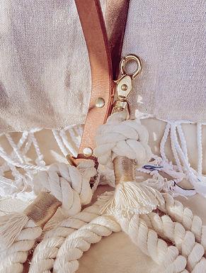 Au Naturel Cotton Leash