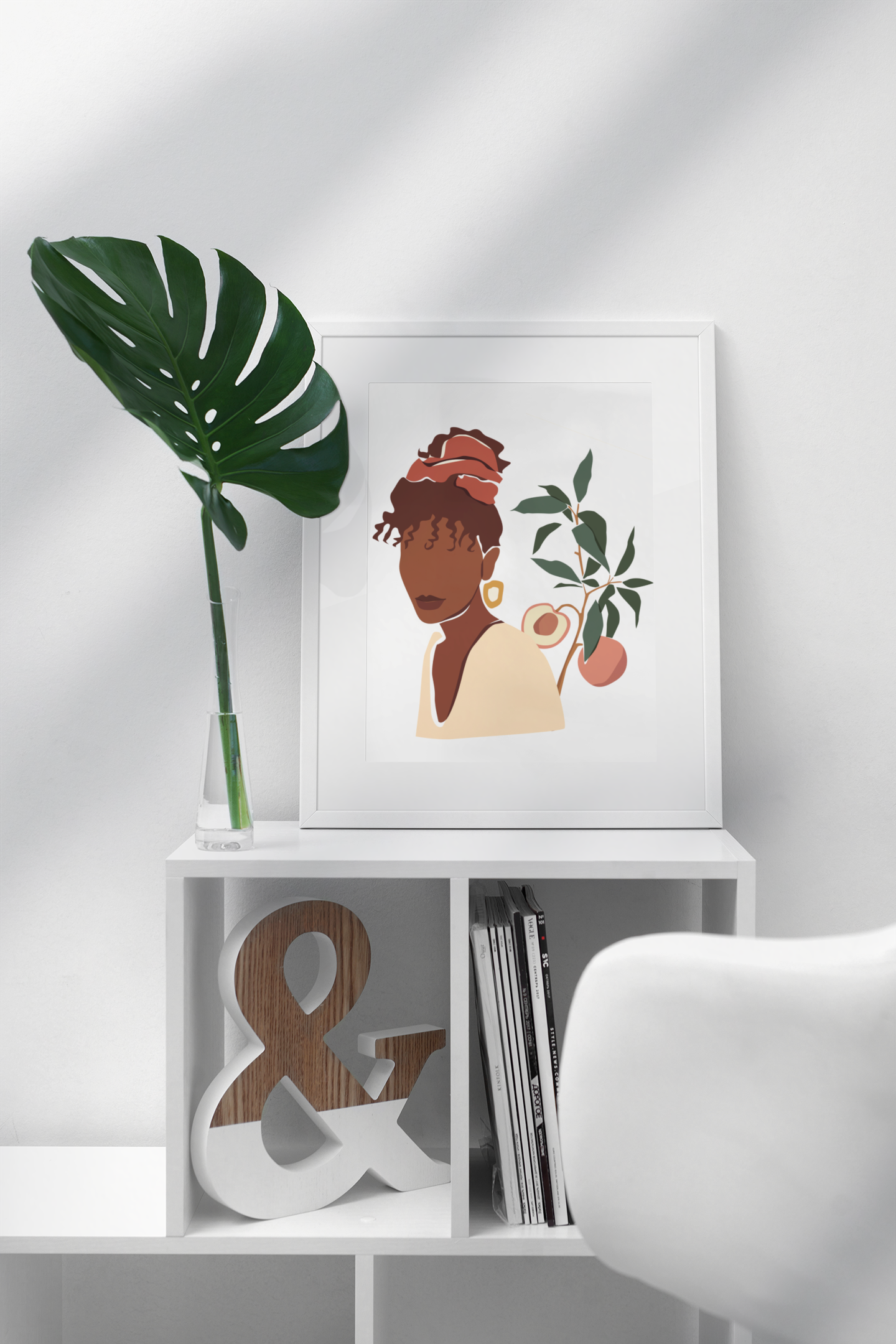 mockup-featuring-a-picture-frame-standin