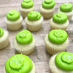 Happy Tuesday!  Tequila Margarita cupcakes to go with your tacos #tacotuesday