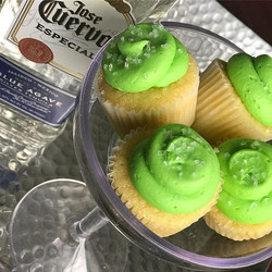 Tequila cupcakes are available all year