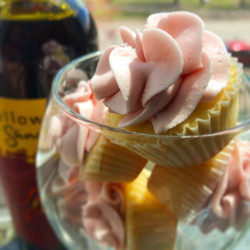 #Sangria Infused Cupcakes coming up for the month of May..