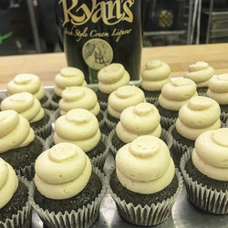 The best breakfast includes #irishcream and #cupcakes or both together..