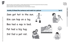 Phonics for SEN Book 1 Reading Sentences