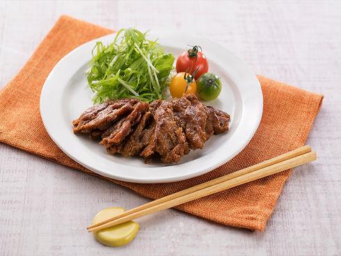 大豆のお肉フィレの照り焼き.jpg