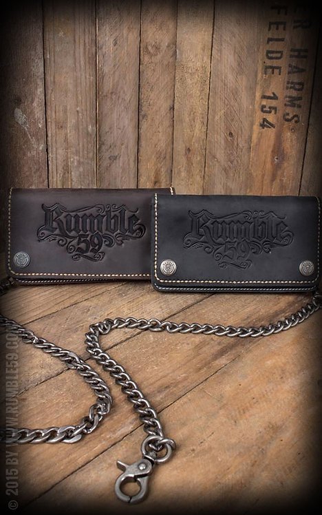 Leather Wallet - brown or black