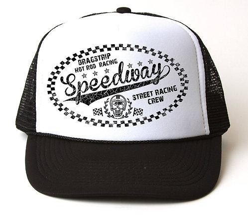 Dragstrip Kustom Speedway Trucker Cap