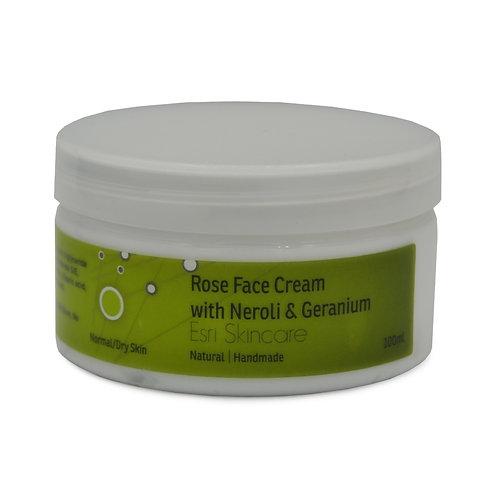 Rose Face Cream with Neroli & Geranium