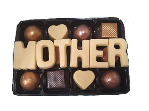 Chocolate box with name (up to 6 letters)
