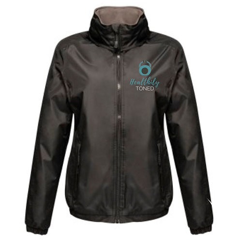 Healthily Toned Men's Waterproof Jacket - Black