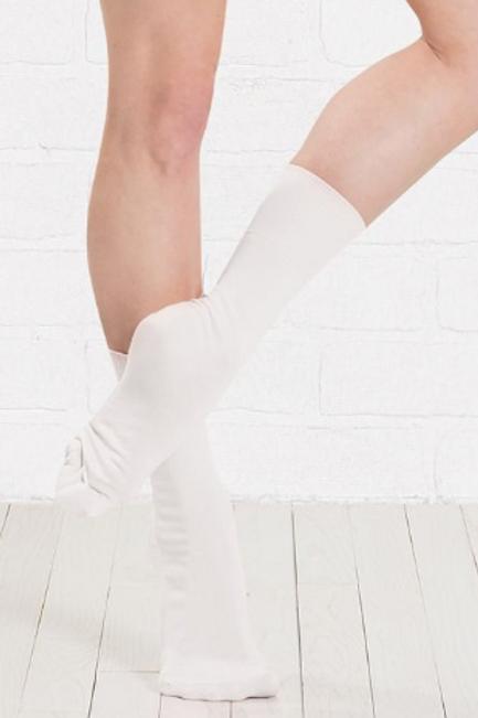 Boys Ballet Socks - White