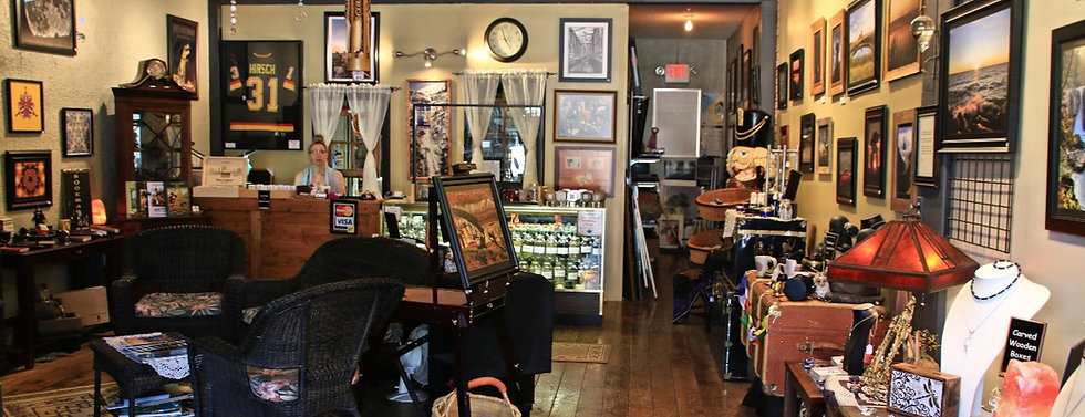 the wicanook boutique & unique gift store in Drumheller Alberta