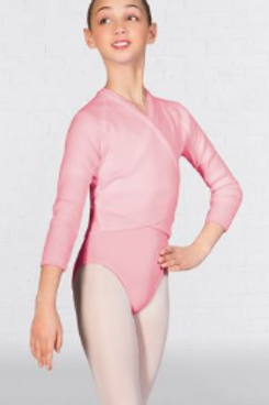 Ballet Crossover Cardigan - Pale Pink