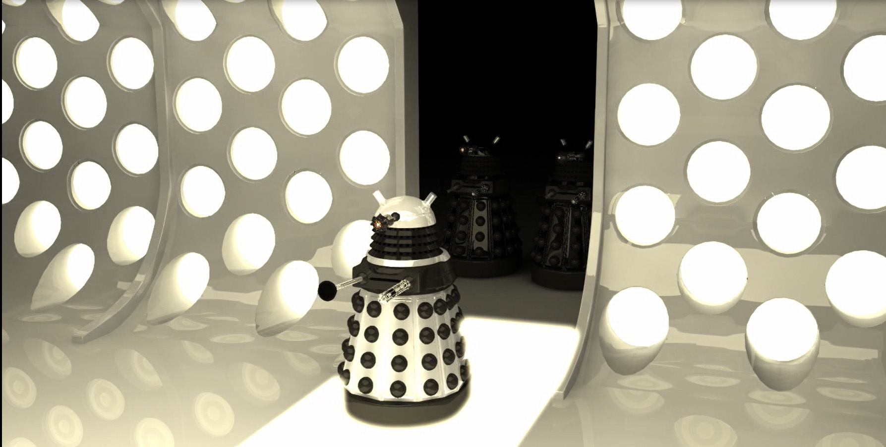 Dalek in the Tardis